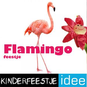 flamingo kinderfeestje