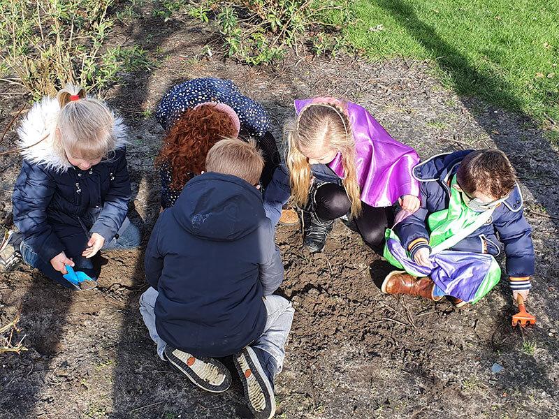 Goed graven opzoek naar de schatkist