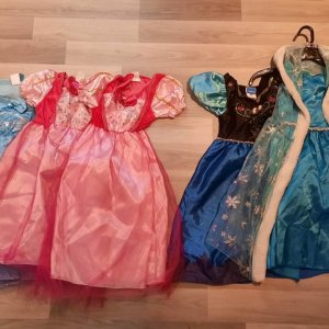 Disney prinsessen feestje jurken