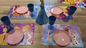 prinsessen aankleding voor tafel