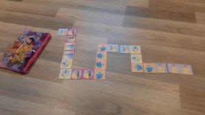 Prinsessendomino kaartjes