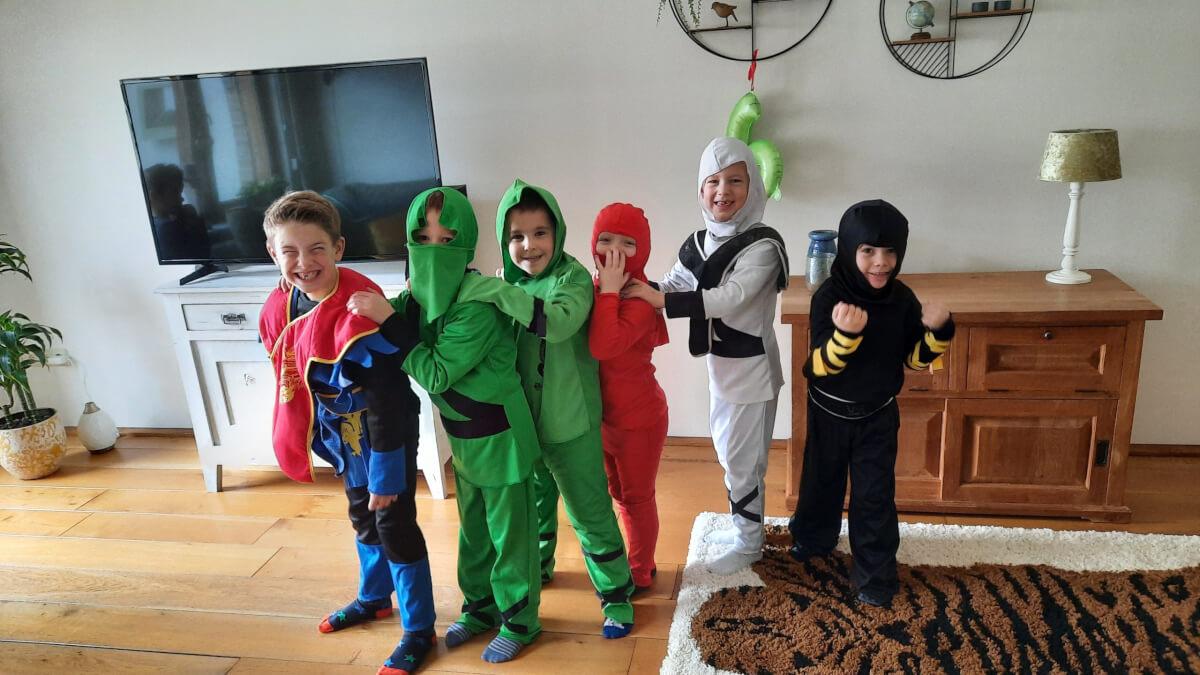 Het Ninjago feestje kan beginnen!
