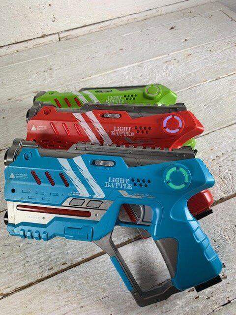 Voor elk kind een lasergun!