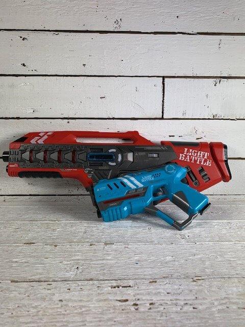 Grote en kleine laserguns