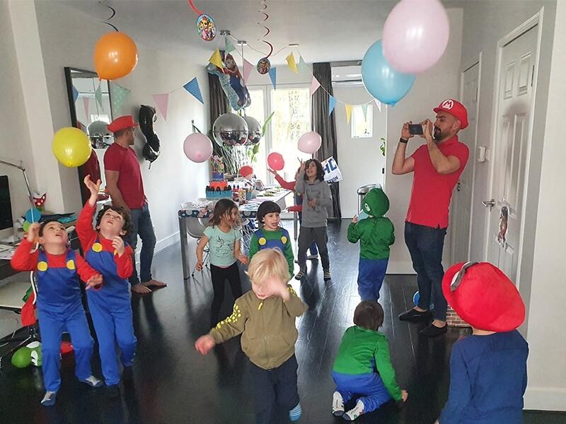 Super Mario party!