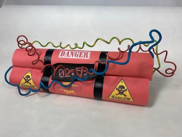 De bom, met een super handige uitleg om zelf te maken!
