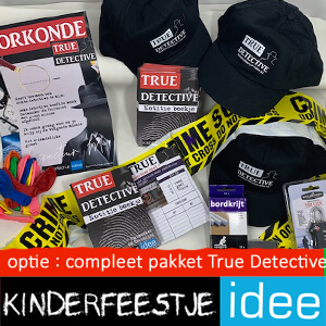 True Detective optioneel kooppakket