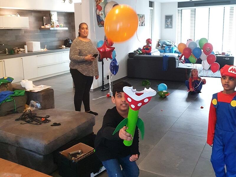 Wie houdt het langst de ballon heel?