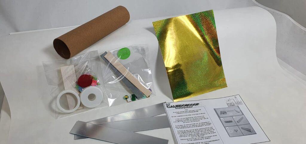 Onderdelen knutselpakket